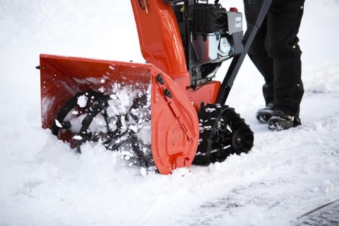 Ariens Platinum 28 SHO Track Snow Thrower 369cc AX Engine Picture