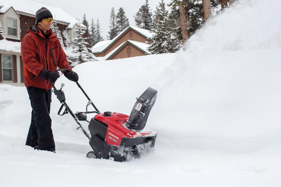 Honda 20 Wide X 12 High Clearance Single Stage Snow Blower Thrower    HS720AA Picture
