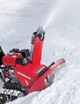 Honda HSS928ATD 270cc Two Stage Electric Start Track Snow Blower Picture