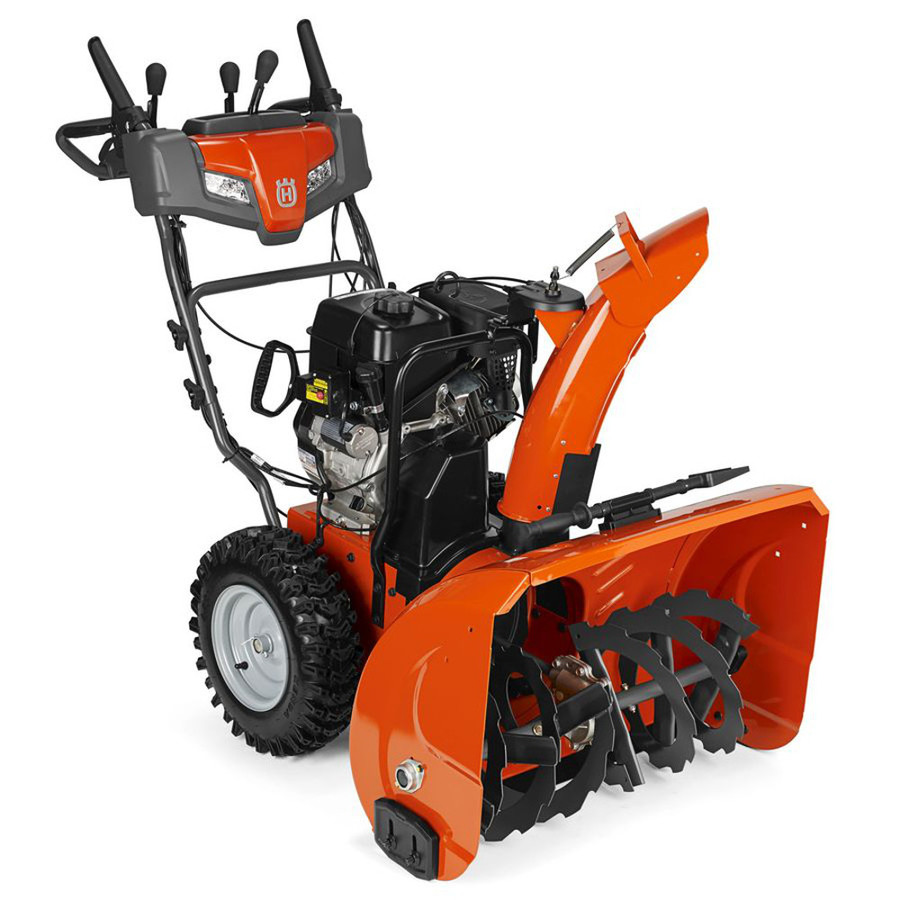 Powerful Handheld Electric Snow Blowers : Review husqvarna st p two stage snow blower
