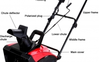Power Smart 5023 (18″) 14-Amp Electric Snow Blower