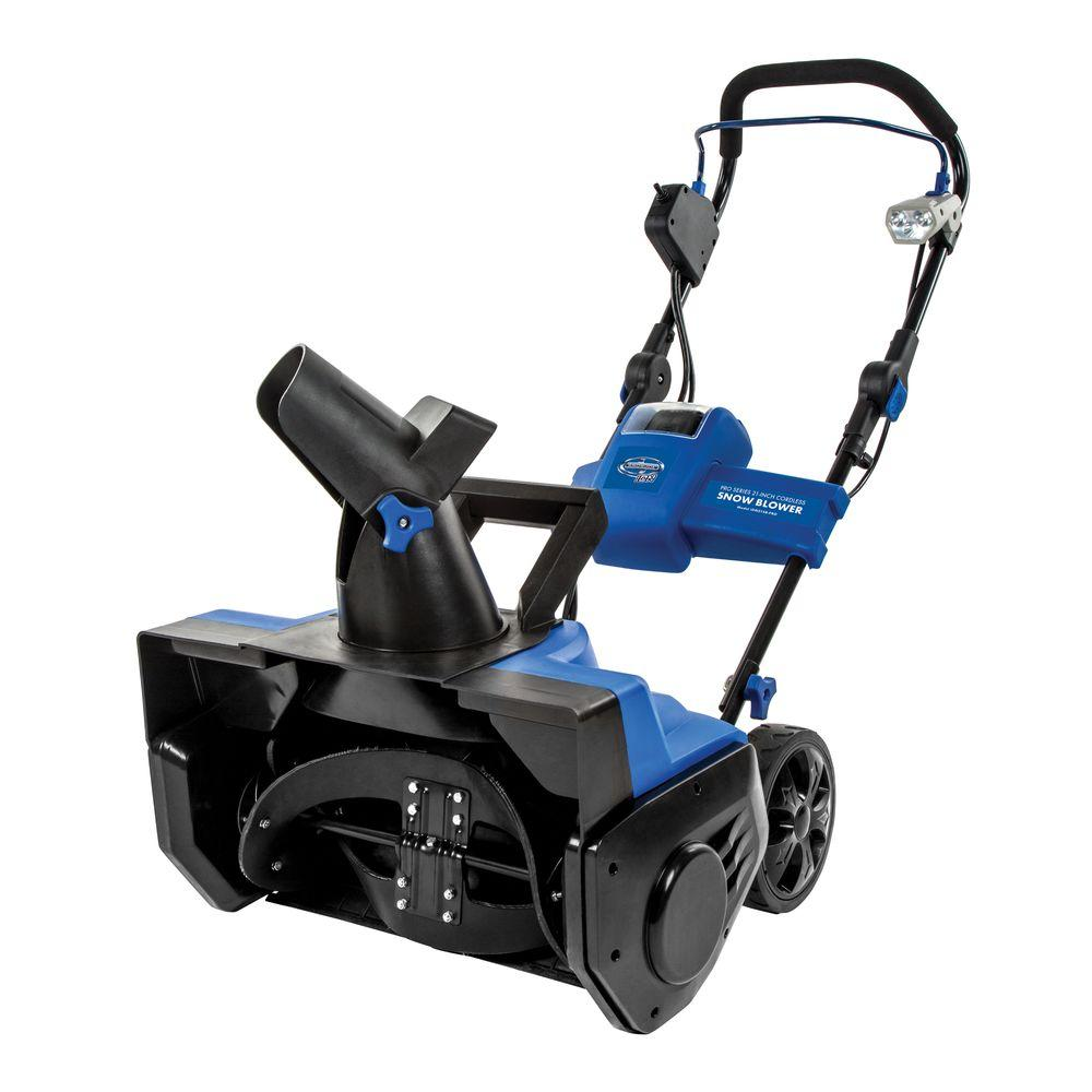 review snow joe ion21sb pro cordless snow blower review