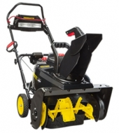 Brute 1696666 Single Stage Snow Thrower with Snow Shredder Technology and Electric Start, 22-Inch Image